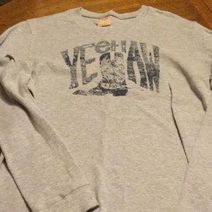 Men's Big Star thermal shirt.